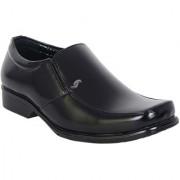 Shoebook Mens Black Formal Slip On Shoes