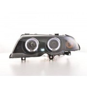 FK-Automotive fari Angel Eyes BMW 3er E46 berlina anno di costr. 98-01 neri