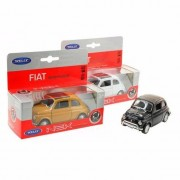 Fiat Speelgoed witte Fiat 500 classic auto 1:36