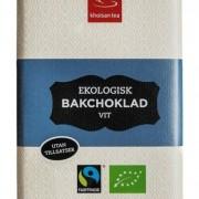 Khoisan Tea Bakchoklad Vit 100 g