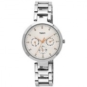 Timex E-Class Analog Silver Dial Womens Watch - Tw000X204