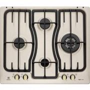 Electrolux Rex/electrolux Rgg6343lon Piano Cottura A Gas 60 Cm 4 Fuochi Colore Sabbia