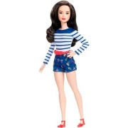 Barbie Fashionistas Petite Nice in Nautical Docka
