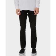 Nudie Jeans Co Lean Dean Cotton Dry Cold Black Mens Slim Jeans