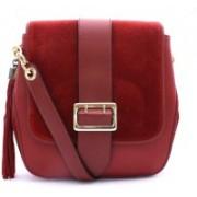 Vogice Women Red, Maroon Sling Bag