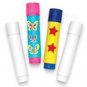 Baker Ross White Card Telescopes - 2 Craft Telescopes for kids to paint & personalise. Size 36cm. Made from strong white card.