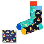 Happy socks 3-pack Birthday Gift Box * Fri Frakt * * Kampanj *