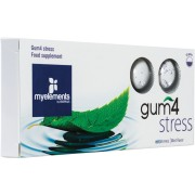 Gum4 Stress - Guma de Mestecat Fara Zahar10 bucati