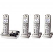 Teléfono Inalámbrico Panasonic KX-TG444SK Enlace2Cell