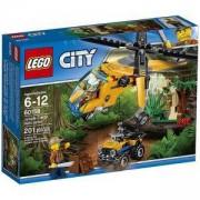 Конструктор ЛЕГО СИТИ - Товарен хеликоптер, LEGO City Jungle Explorers, 60158