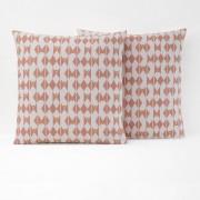 La Redoute Interieurs Fronha de almofada estampada, puro algodão, EFIAEstampado Rosa- 63 x 63 cm