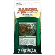 Magic the Gathering: MTG Battle for Zendikar: Intro Pack / Theme Deck: Oran-Rief Hydra (includes 2 Booster Packs & Alternate Art Premium Rare Promo) Green
