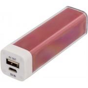 Deltaco Power bank 2600mAh USB 5V 1A, röd