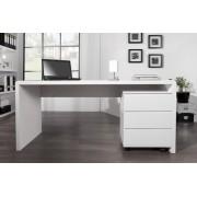 Písací stôl TRADE XL - biela