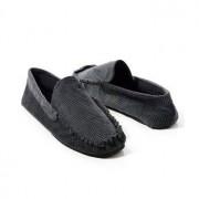 Giorgio Armani Emporio Armani Dogtooth Loafers Black 1 * Fri Frakt * * Kampanj *