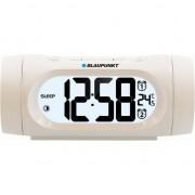 Radio cu ceas Blaupunkt CR9WH, FM radio, Dual Alarm, Termometru, USB, Alb
