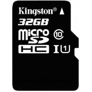 SanFlash Kingston MicroSDHC de 32 GB para Samsung Galaxy J3 Prime con Adaptador SD (100 MBs, Funciona con Kingston)