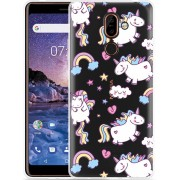 Nokia 7 Plus Hoesje Fat Unicorn