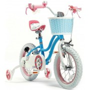 "RoyalBaby Kids 'Bike 16 ""Fată de stele Blue 2019"