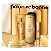 Paco Rabanne 1 Million Комплект (EDT 100ml + EDT 10ml + SG 75ml) за Мъже