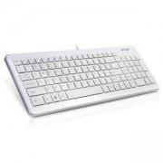 Клавиатура DELUX DLK-1500U, USB интерфейс, БДС кирилизирана, бял, DLK-1500UWHITE_VZ