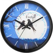 Evelyn Round Design Wall Clock for Office Bed Room Lobby Kitchen Stylish Wall Clocks Modern wall Clock-Evc-022