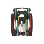 Set 10 cabluri elastice, cu cârlige