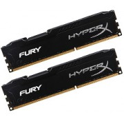 HyperX FURY 16GB Kit (2x8GB) 1866MHz DDR3 CL10 DIMM - Must - (HX318C10FBK2/16)