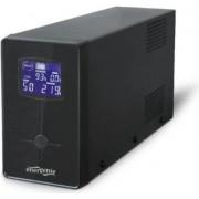 Gembird UPS with LCD display, 650 VA, black, EG-UPS-031