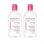 Bioderma Duo Pack Sensibio H2O Água Micelar 2x500ml