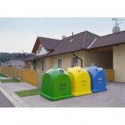 2,1 m3 üvegszövetbetétes műanyag konténer egyéb gyűjtésre 6781-3