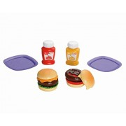 Fisher-Price Servin Surprises Cook n Serve Kitchen: Hamburger Set