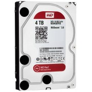 "Western Digital WD Red NAS Hard Drive WD40EFRX - Disco rígido - 4 TB - interna - 3.5"" - SATA 6Gb/s - buffer: 64 MB - para My Cloud EX2, EX4"