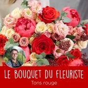 Interflora Bouquet du fleuriste Rouge