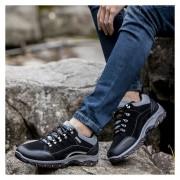 Zapatos Deportivos Hombre Aire Libre Alpinismo Zapatos Para Caminar/ Correr -Negro