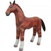 Geen Opblaasbaar paard 75 cm decoratie/speelgoed