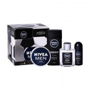 Nivea Men Deep Comfort confezione regalo dopobarba 100 ml + doccia gel 250 ml + deodorante antitraspirante roll-on 50 ml + crema Men Creme 150 ml Uomo