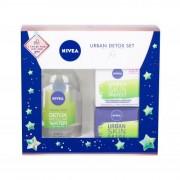 Nivea Urban Skin Defence SPF20 подаръчен комплект дневна грижа за лице SPF20 50 ml + нощна грижа за лице 50 ml + мицеларна вода 400 ml за жени