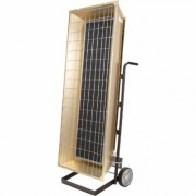 Fostoria by TPI 9.5 Kilowatt, 240 Volt, 32,414 BTU, Portable Electric Heater, Model FSP-9524-3
