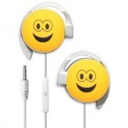 Start Auricolare A Filo Stereo Smile-07 Headphones Jack 3,5mm Universale Per Musica Yellow Per Modelli A Marchio Meizu