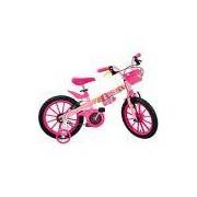 Bicicleta Infantil Princesas Disney Aro 16 - Brinquedos Bandeirante