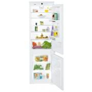 Combină frigorifică încorporabilă Liebherr ICS 3334, 274 L, SmartFrost, Siguranţă copii, SuperFrost, Iluminare cu LED, Display, Control taste, H 178 cm, Clasa A++
