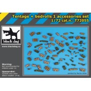Black Dog - Set accesorii 1 – Corturi si prelate 1:72