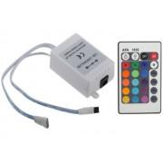 NTR CNT01 RGB LED infra vezérlő 24gombos
