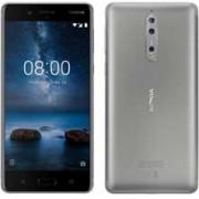 Telemóvel Nokia 8 4G 64GB Dual-SIM silver/steel EU