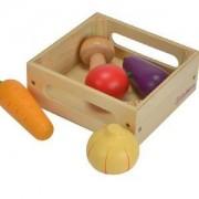 Дървена кутия Eichhorn, със зеленчуци, 043183