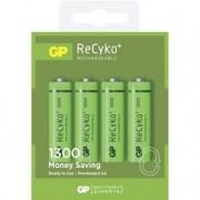 GP 4 piles NIMH AA 1300mAh rechargeable - ReCyko+