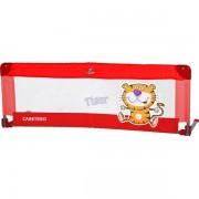 Bariera de protectie pentru pat Safari red