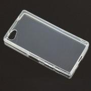 Husa SONY Xperia Z5 Compact Super Slim 0.5mm Silicon TPU Transparenta