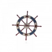 Decoratiune din lemn Navy Wheel
